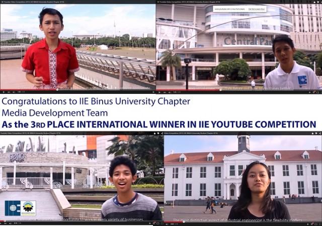 3rd Winner Youtube