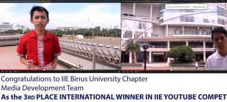 IIE BINUS UNIVERSITY – IIE YOUTUBE VIDEO COMPETITION 2015