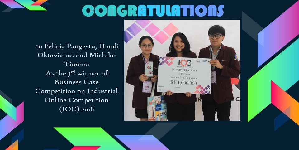 Industrial Online Competition 2018