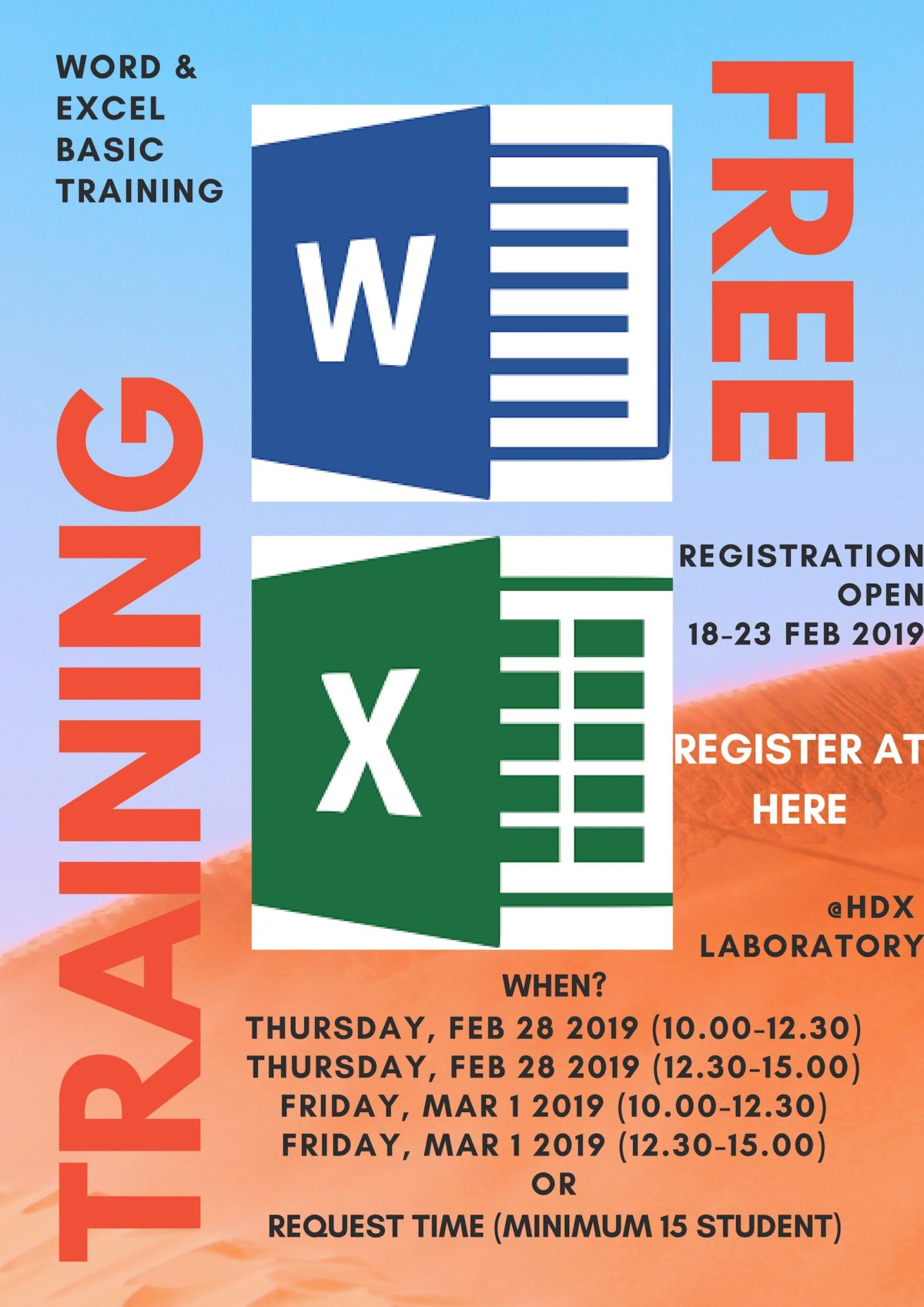 Basic Training Ms Word and Ms Excel 2019