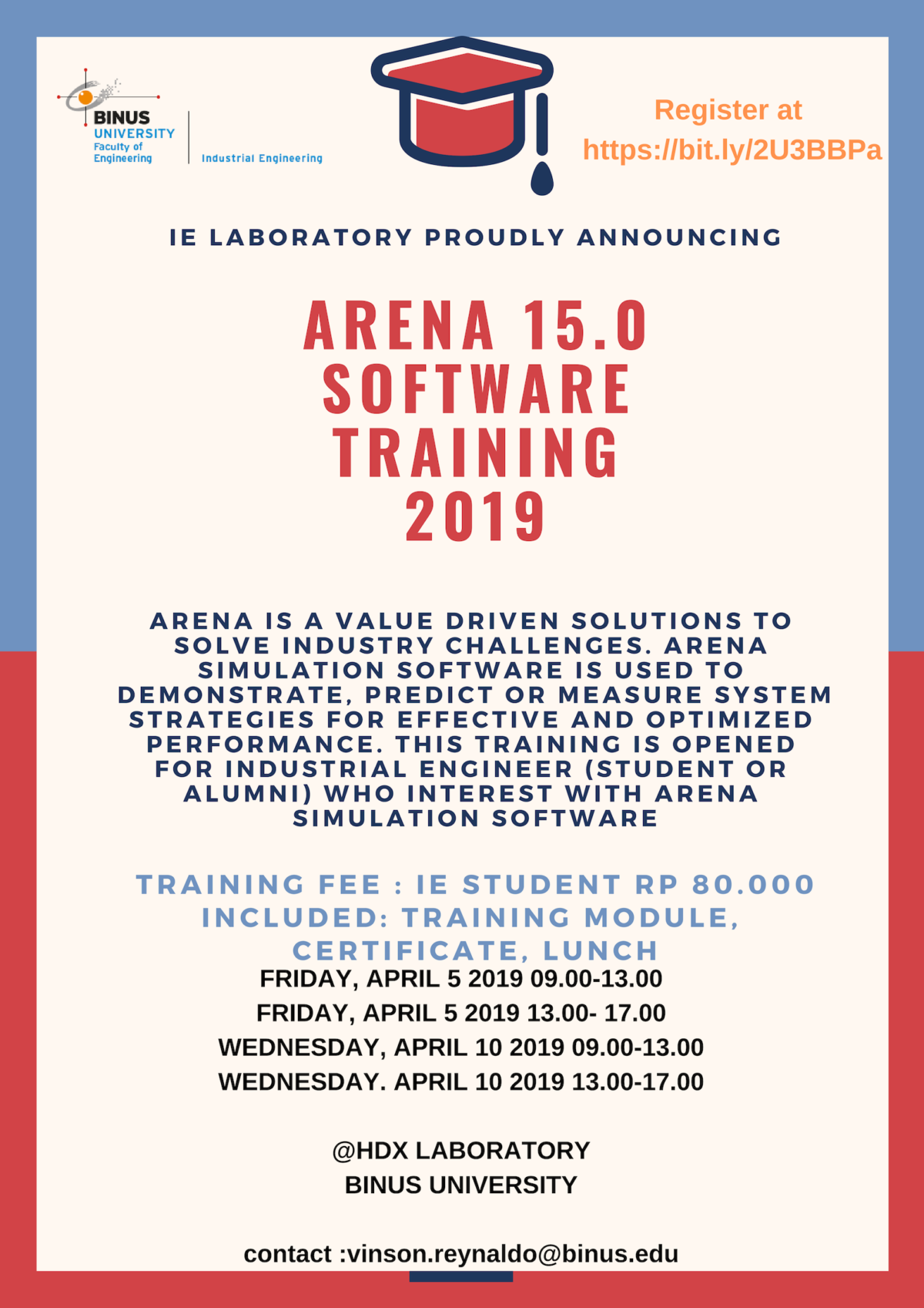 ARENA 15.0 Software Training 2019